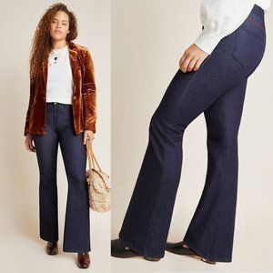 Anthropologie Pilcro Stitched   Flare Jeans